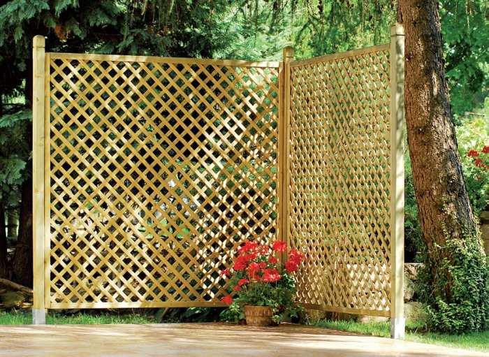 cerramiento madera estantes materiales colores