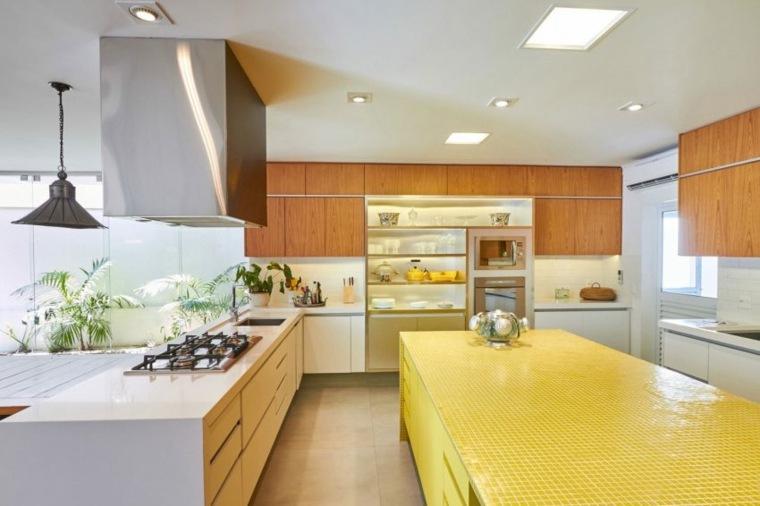 cocina colores cálidos brasil