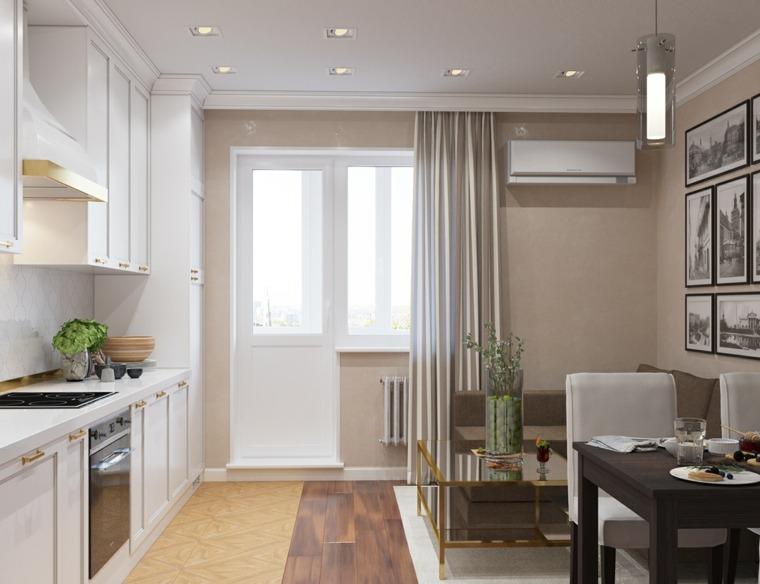 cocina familiar diseno opciones modernas espacios pequeno ideas