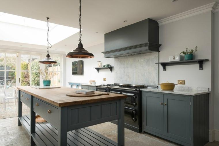 Cocina familiar 26 fotos inspiradoras y consejos de dise o for Material cocina industrial