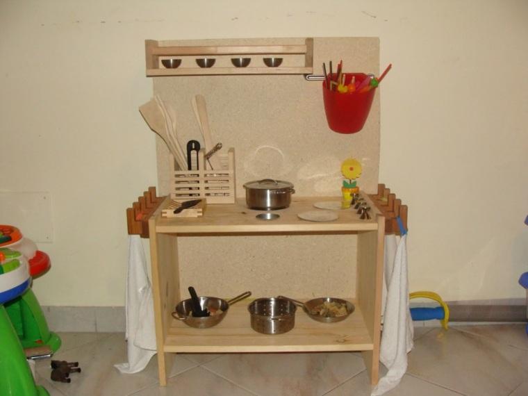 cocina juguete madera vajillas opciones ideas