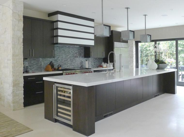 Cocina para todos los amantes del dise o moderno - Disenos de islas para cocinas ...