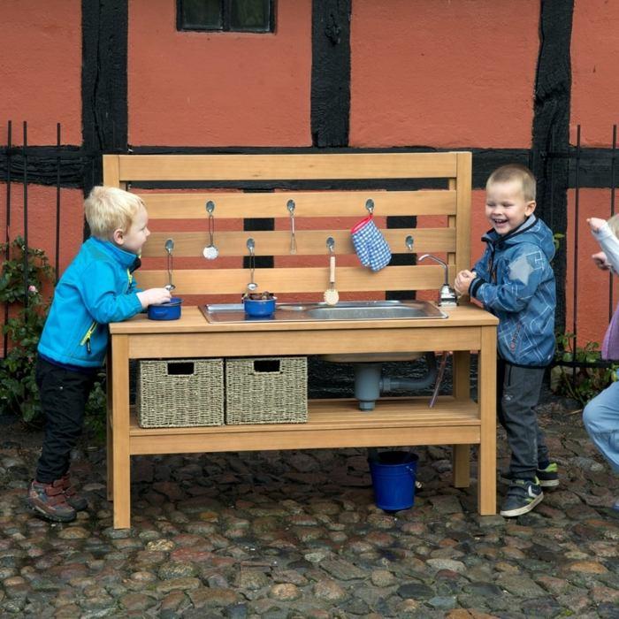 cocinas de juguete ninos armarios viejos nuevo uso ideas