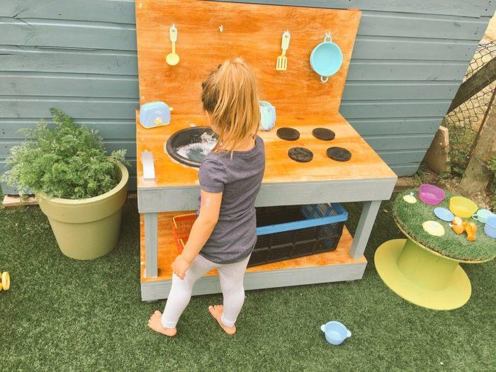 cocinas jueguete ninos madera ninas jugando ideas