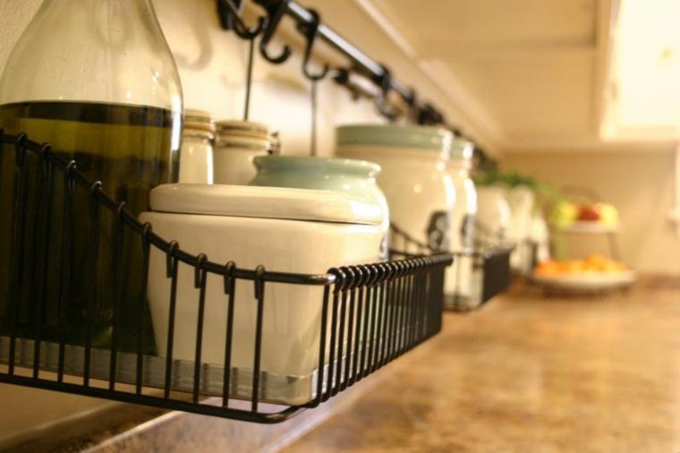 cocinas innovadoras cestas pared