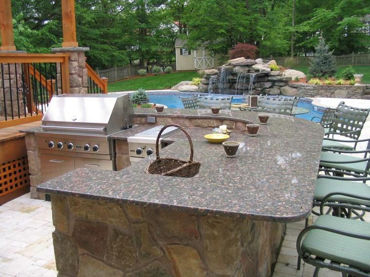 cocinas originales piscina cataratas