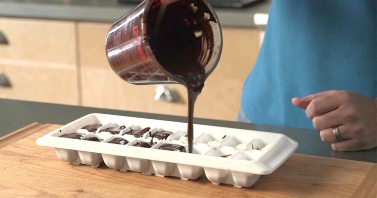 cocinas pequeñas y modernas chocolate hielo