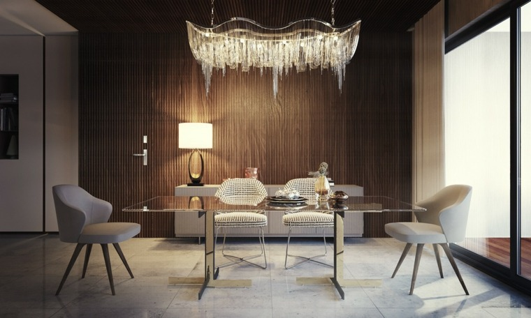Muebles comedor con dise o elegante y lujoso for Muebles estilo clasico moderno
