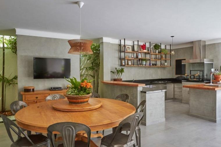 La residencia del dise ador lisandro piloni for Marmol color naranja