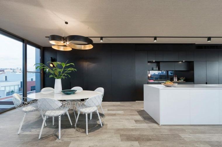 comedor lujoso diseno moderno LSA Architects ideas