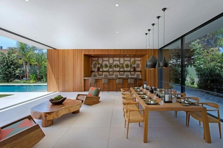 comedor lujoso diseno moderno Moustroufis Architects ideas