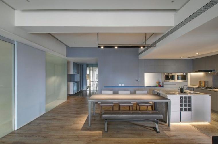 comedor lujoso diseno moderno Taipei Base Design Center ideas