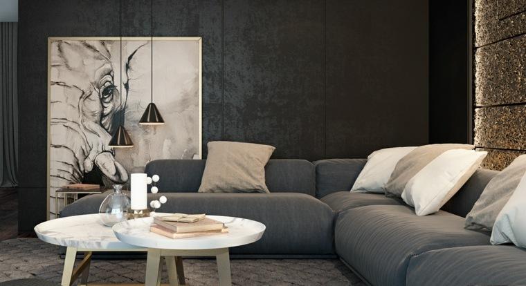 Como decorar un salon elegante y funcional, 24 ideas