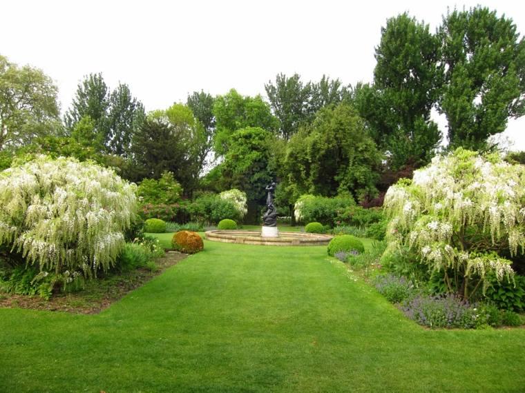 Verde en el jard n trucos e ideas para un buen - Paisajes de jardines ...