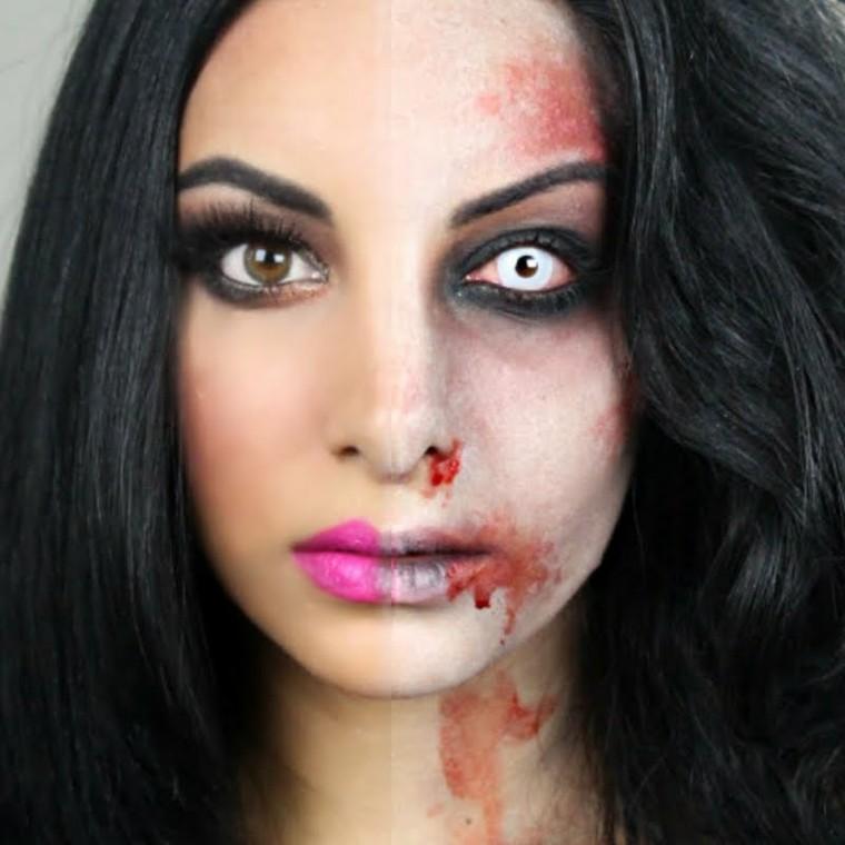 Maquillaje para halloween c mo hacerlo - Como maquillarse de zombie ...