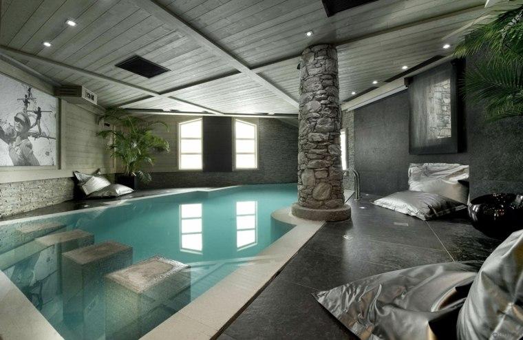 construccion de piscinas dentro casa disenos preciosa ideas
