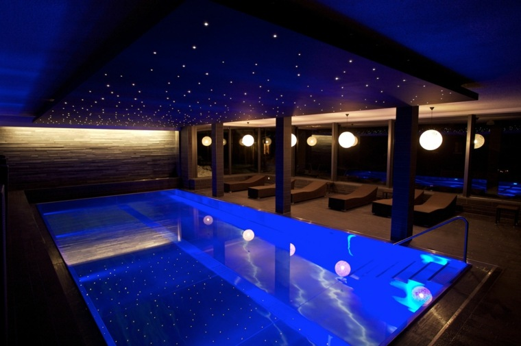 construccion de piscinas dentro casa disenos privado ideas