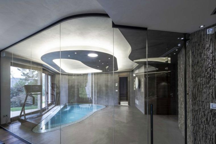 construccion piscinas dentro casa disenos Giammetta Architects ideas
