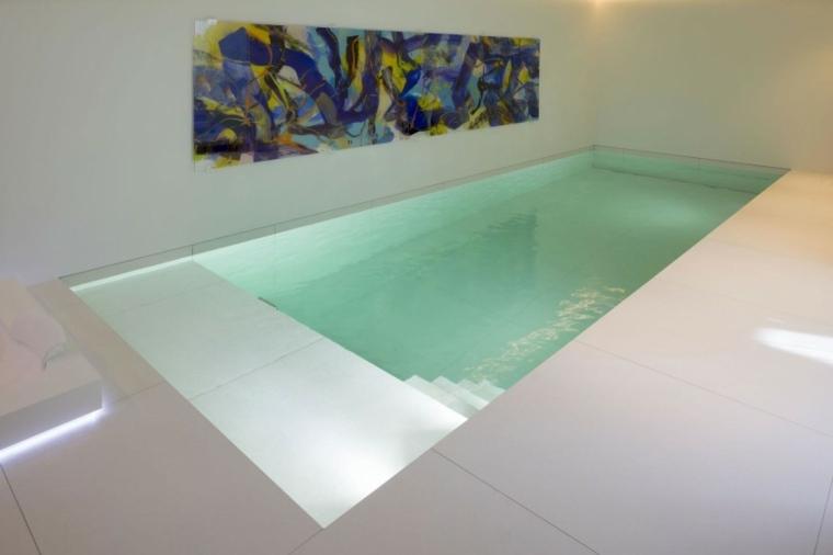 construccion piscinas dentro casa disenos Lab32 architecten ideas