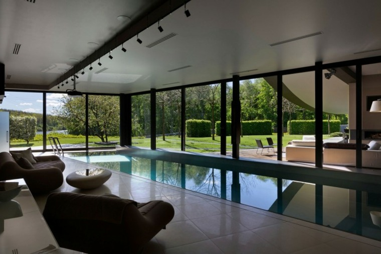 construccion piscinas dentro casa disenos Sbm Studio ideas