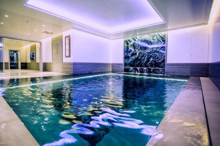 construccion piscinas dentro casa disenos espectacular ideas
