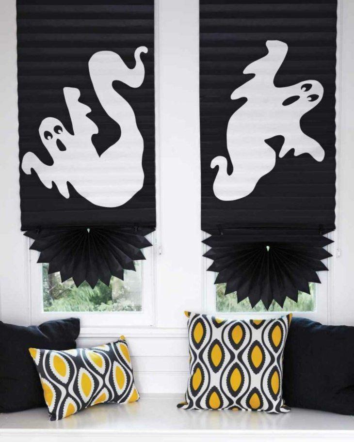 cortinas fantasmas idea cojines muestras