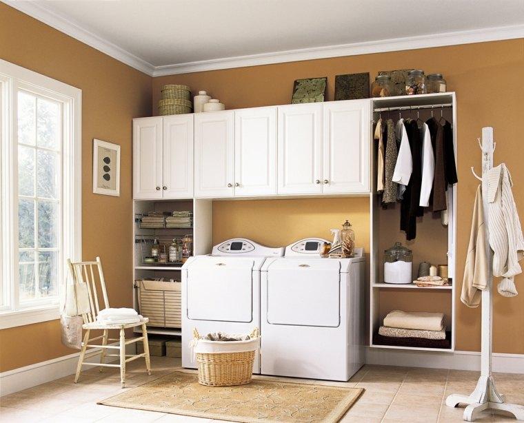 cuarto lavadoras zona vestidor muebles