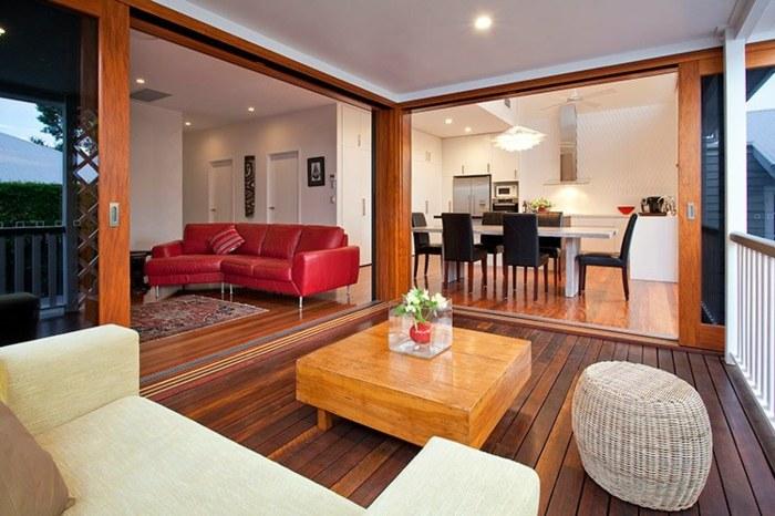 cubierta terraza muebles casa claro