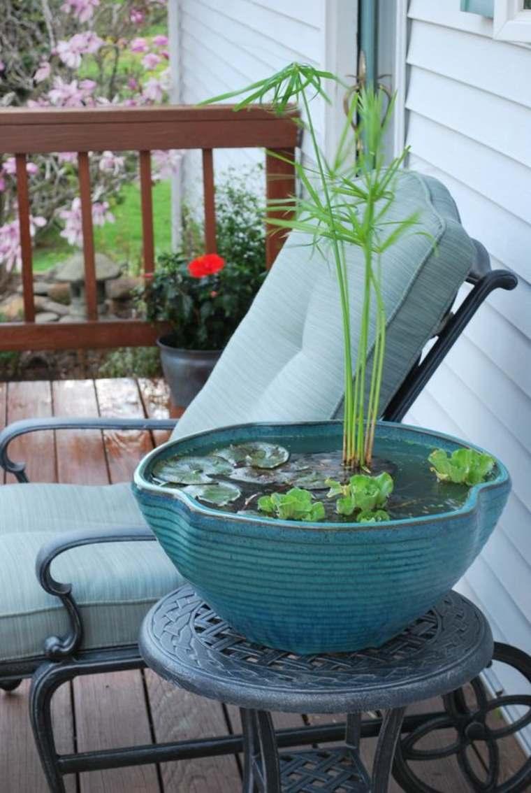 cuenco jardin agua terraza