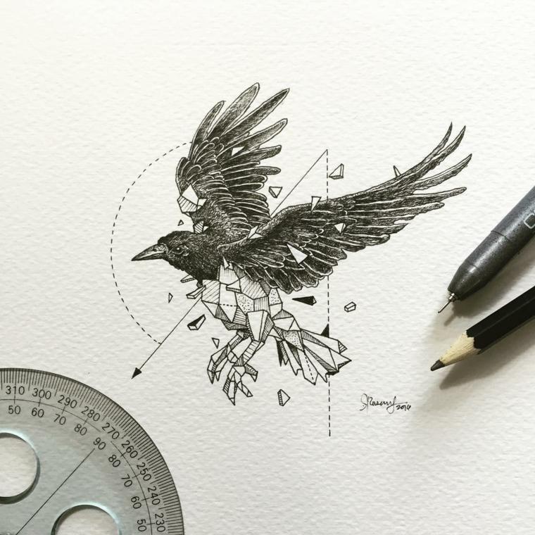 cuervo negro kerby rosanes