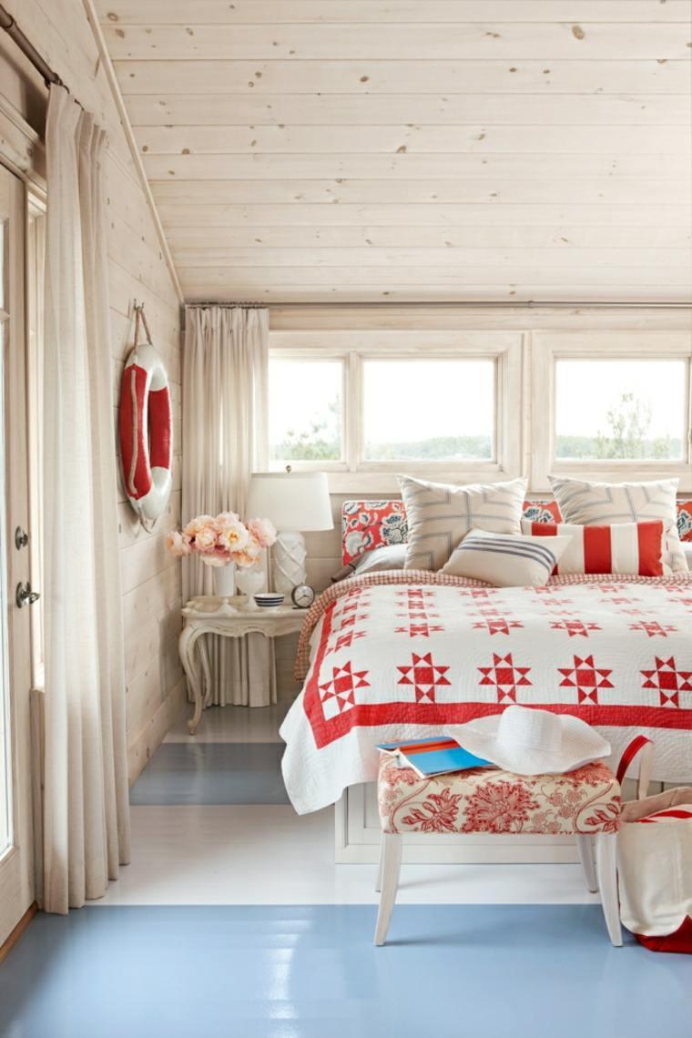 decoración habitacion estilo nórdico
