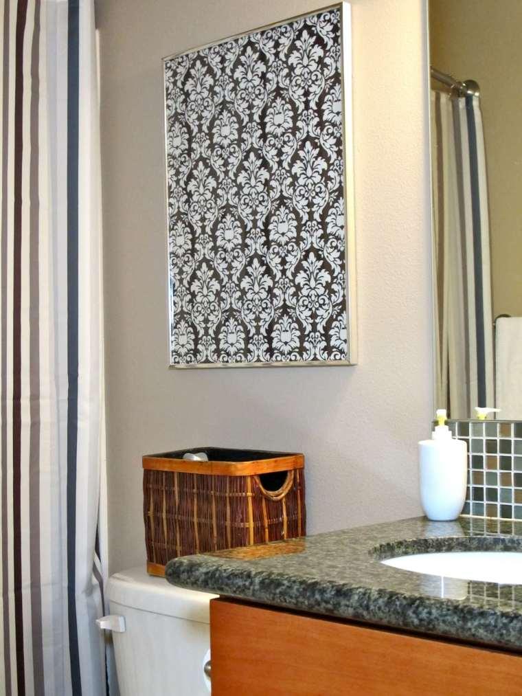 Estantes Para Baños Baratas:La decoración de las paredes puede variar mucho de precio, desde el