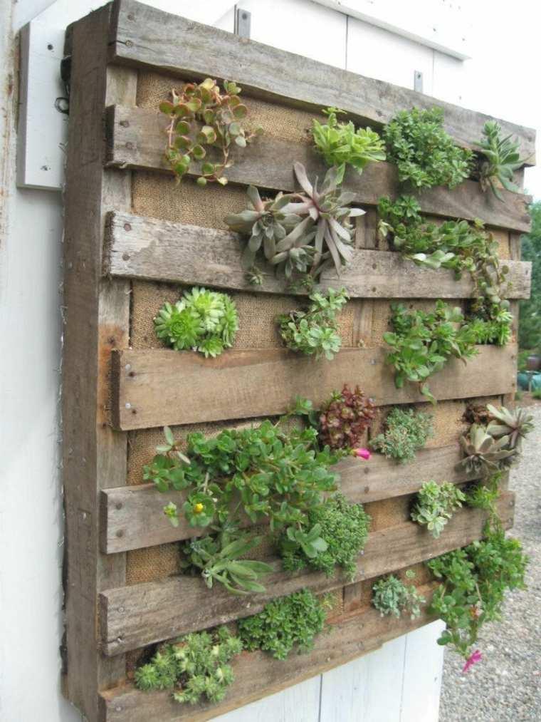 Jardinera diy de palet 12 sencillos pasos para construirla for Jardin vertical casero palet