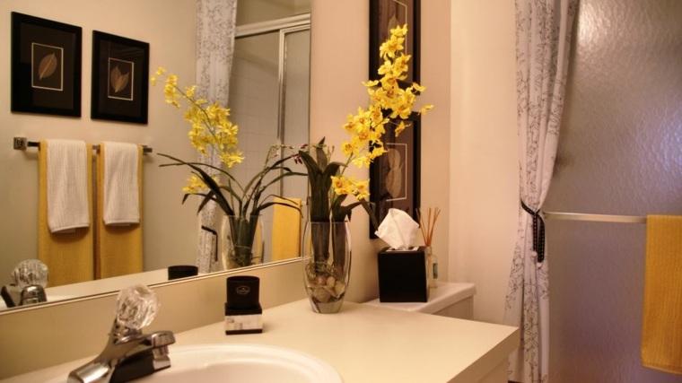 decoración apartamentos pequeños baño