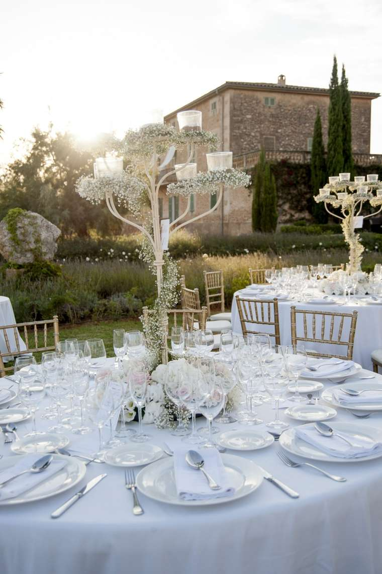 decoracion boda vintage blanco tipico color boda ideas