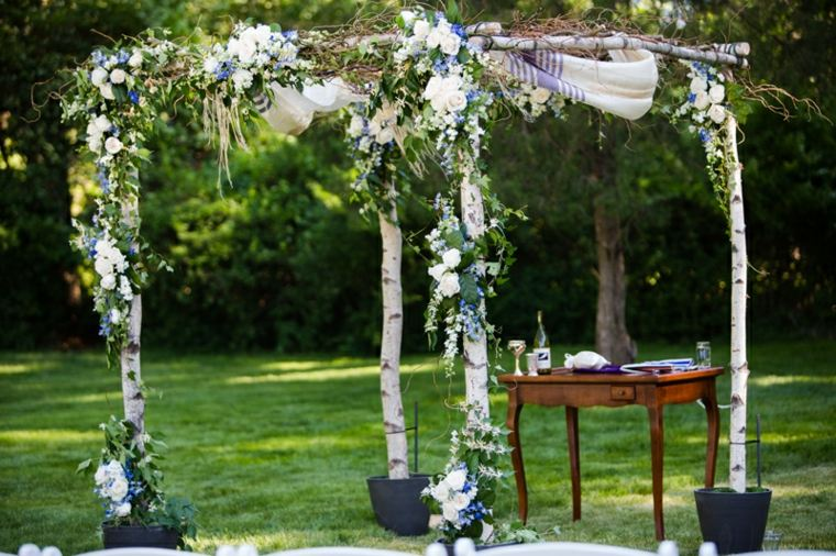 decoracion boda vintage ceremonia opcones originales ideas