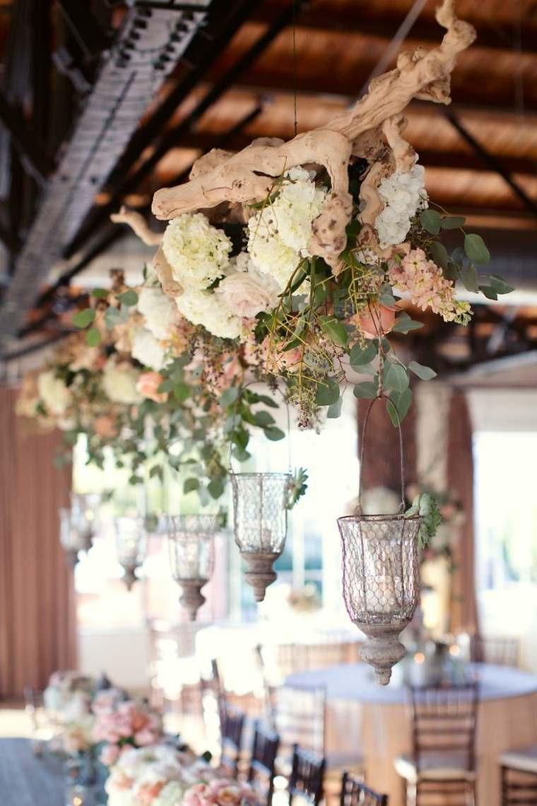 decoracion boda vintage opciones decoracion sobre mesa ideas