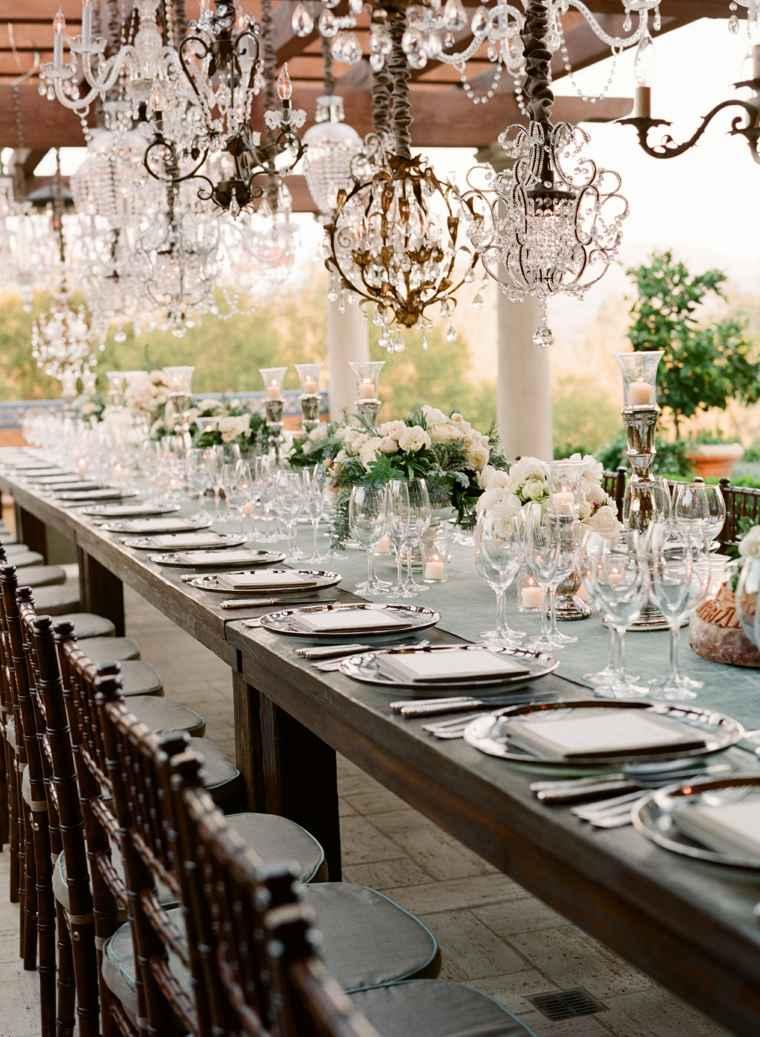 decoracion boda vintage opciones mesa centro detalles ideas
