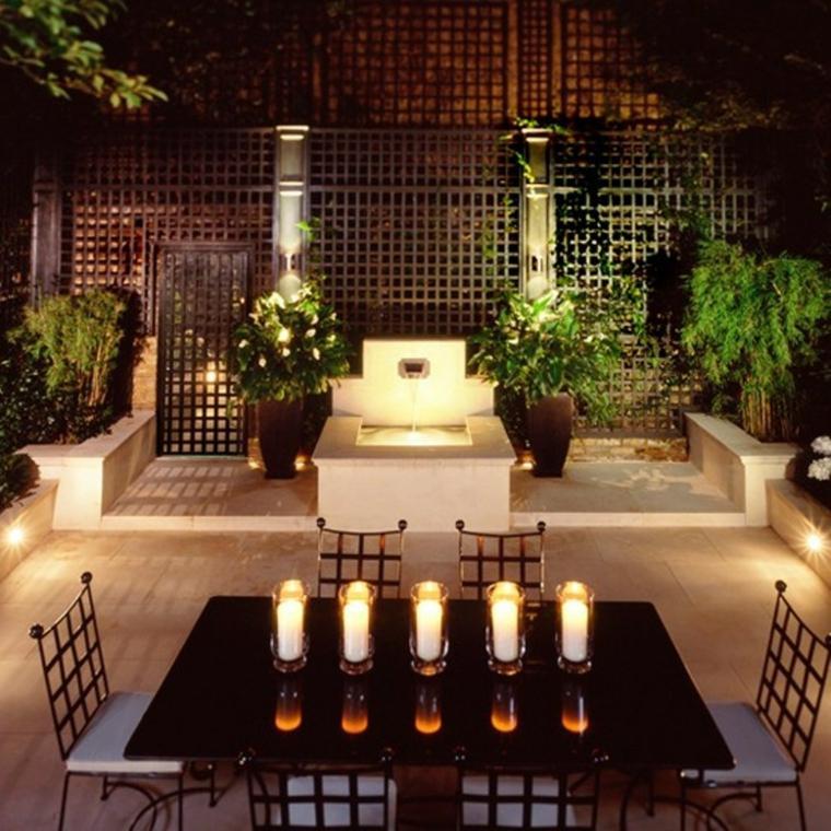 Velas decorativas para el exterior - Vallas decorativas para jardin ...