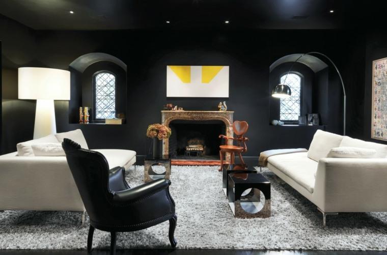 decoración diseño interiores color negro