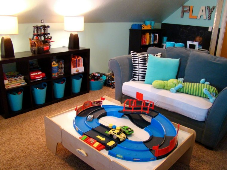 decoración habitaciones infantiles niños