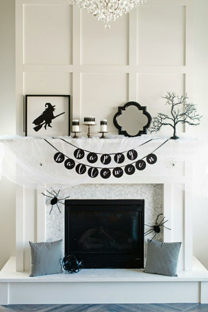 decoracion halloween concepto materiales lamparas