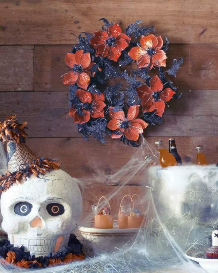 decoracion halloween coronas partes zonas
