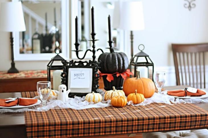 decoracion halloween especiales salones mesas