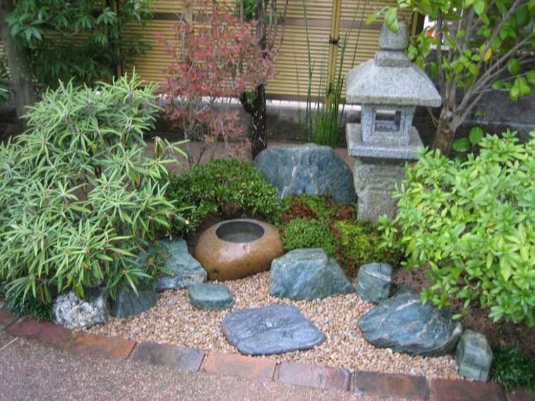 decoración jardín estilo zen