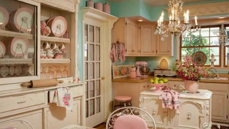 decoración vintage casera cocina