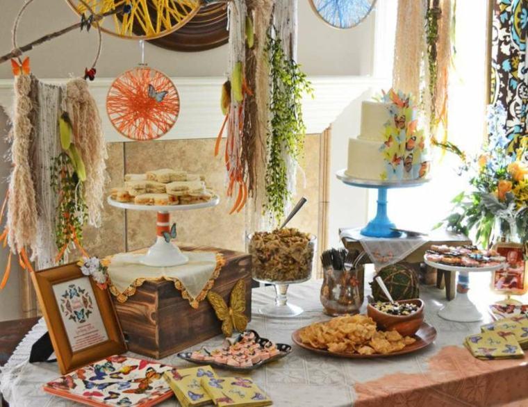 decoracion mesa baby shower
