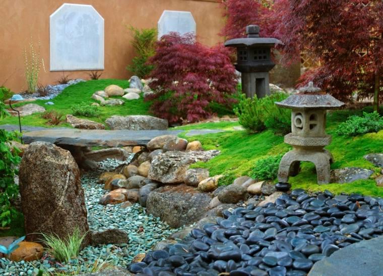 decorar con piedras río