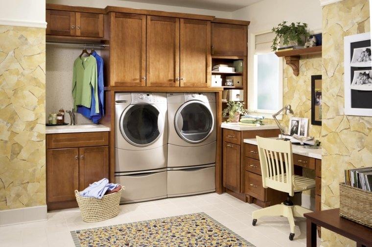 Cuarto de lavado ideas pr cticas para su organizaci n for Lavado de muebles de madera