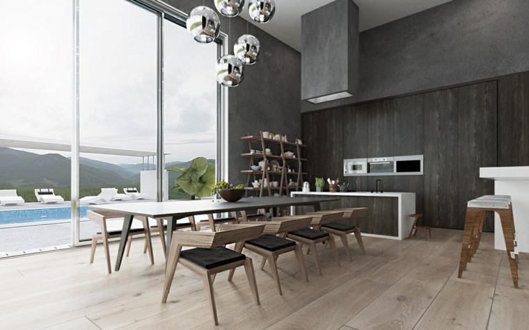 Comedores de dise o moderno funcionalidad y estilo for Stanza da pranzo moderna
